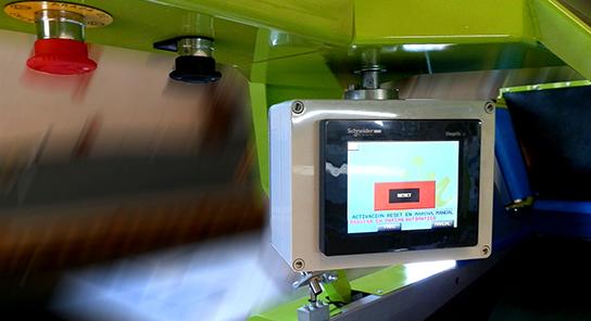 Encajadora automatica de fruta alto rendimiento 12