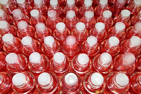 Llenadora de botellas