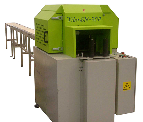 Maquina de embalaje de perfiles aluminio